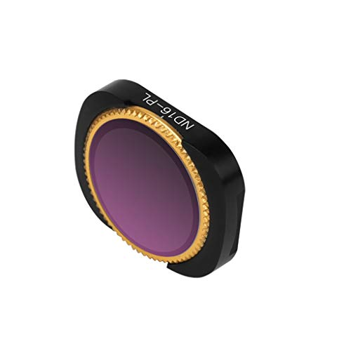 bescita Kamera Lens | ND4-PL + ND8-PL+ ND16-PL+ ND32-PL +ND64-PL Lens Filter für DJI OSMO Pocket Drone Professionelle Wasserdichte Kamera Lens (ND16-PL)