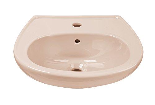 AquaSu 56112 9, beige, 45 cm-Handwaschbecken