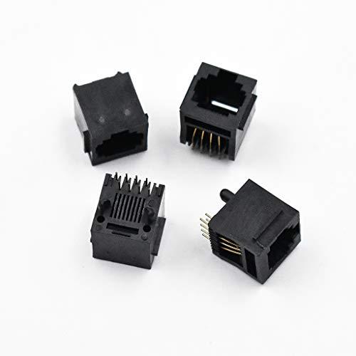 Fliyeong Netzwerk-LAN-Kabelanschluss Modularer PCB-Anschlussabstand RJ 45 8P 8 C -