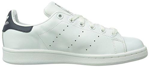 Adidas Stan Smith, Sneaker Unisex adulto Bianco (Running White/Running White/New Navy)