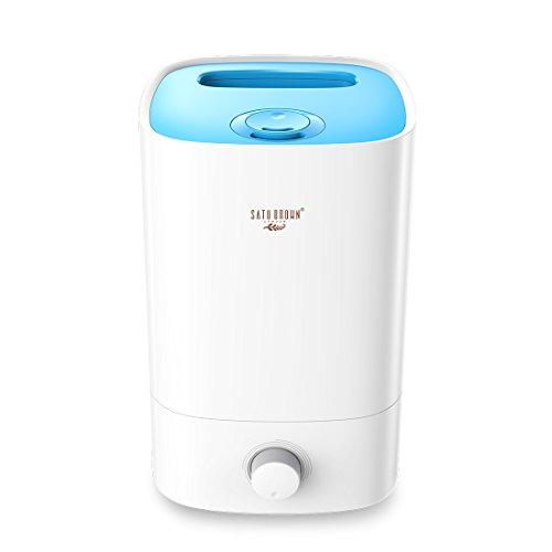 Ultrasonic-Luftbefeuchter, Satu ätherisches Öl, 3,5 l-Kapazität, 15 - 30Stunden Dauerleistung, tragbar, für Büro, Schlafzimmer, Wohnzimmer, Kinderzimmer