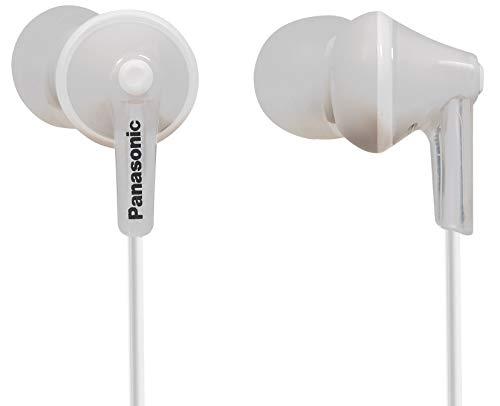 Panasonic RP-HJE125E-W In Ear-Kopfhörer weiß Philips Ear-clip