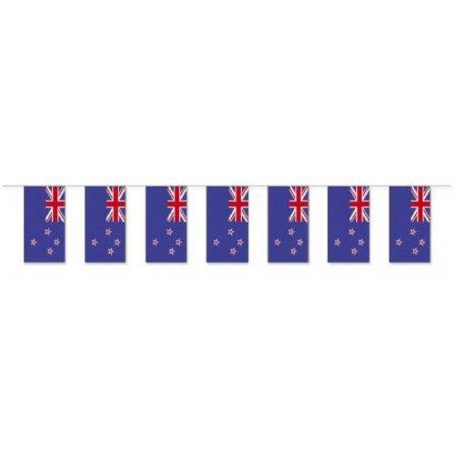 Preisvergleich Produktbild Papierfahnen-Kette 5m : Neuseeland