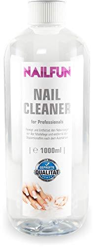 Nailcleaner 1000ml = 1 Liter Spezial Nagel-Reiniger (99,9% Isopropanol) für die Nagelmodellage in Studioqualität zum reinigen und entfetten - Nail Cleaner 99.9 % Isopropanol -