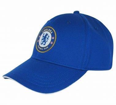 Offizielles Chelsea FC Crest Baseball Cap (Erwachsene)