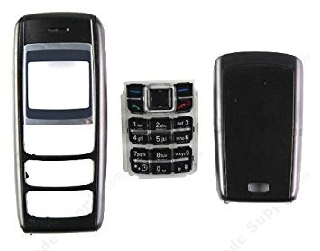 BLUE DIAMOND Replacement Full Body Housing Panel Faceplate For Nokia 1600- Black  available at amazon for Rs.199
