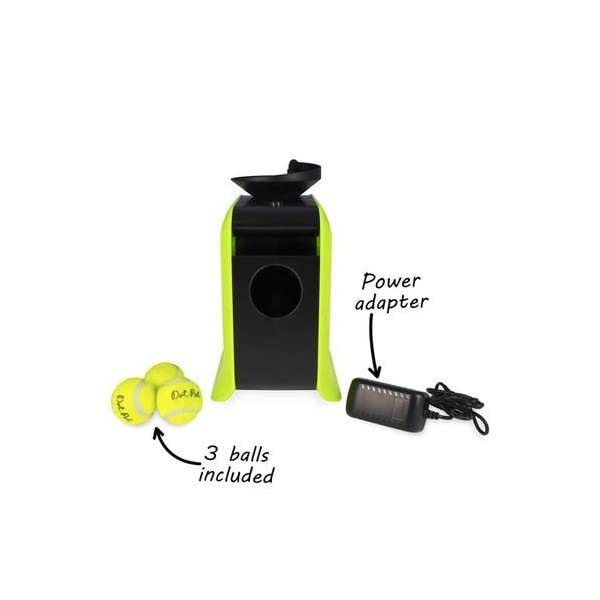 Electriq Automatic Dog Ball Launcher with Treat Dispenser 7