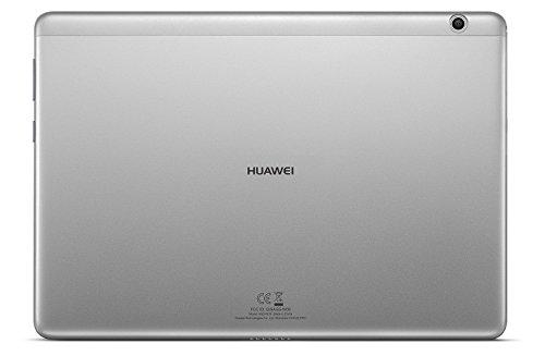 HUAWEI MediaPad M3 lite LTE 25,6 cm (10,1 Zoll) Tablet-PC (Fingerabdrucksensor, QualcommTM MSM8940 Octa-Core Prozessor, 3 GB RAM, 32 GB interner Speicher, Android 7.0, EMUI 5.1) grau