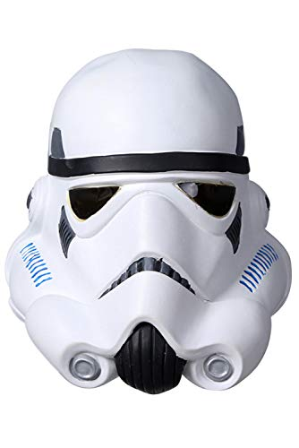 mperial Stormtrooper Latex Helmet Maske Cosplay ()