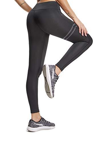 FITTOO Pantaloni Yoga da Donna Larghi Largo Gamba Larga Eleganti Vita Alta