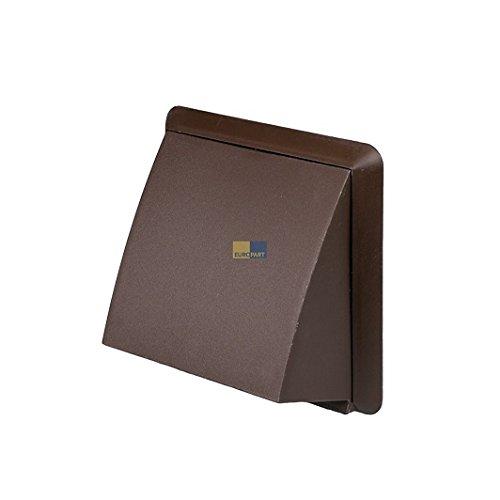 aussenhaube-100err-braun-rund-anschlusssystem-mit-wetterschutz-vorsatzhaube