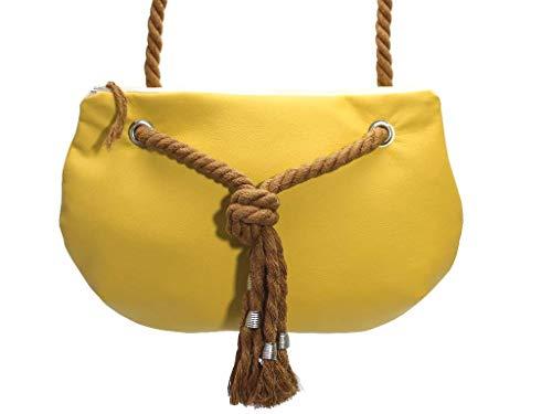 Gelbe Handtasche - 6
