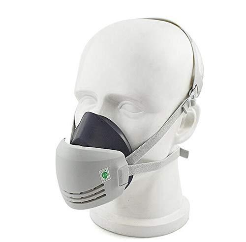 Máscara industrial seguridad soldadura protección