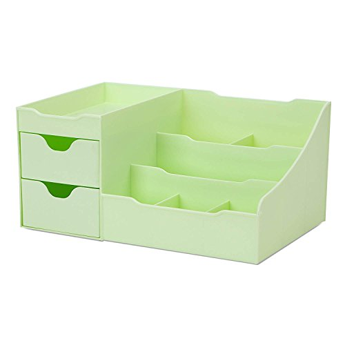 Uncluttered Designs Makeup Organizer Con Cajones (Verde)