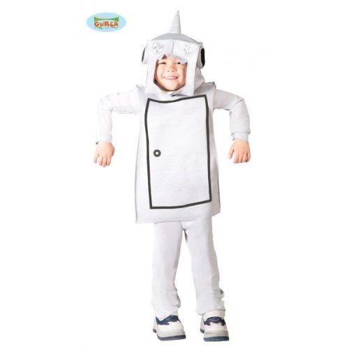 Kostüm von Roboter (Größe 4-6 Jahre alt)