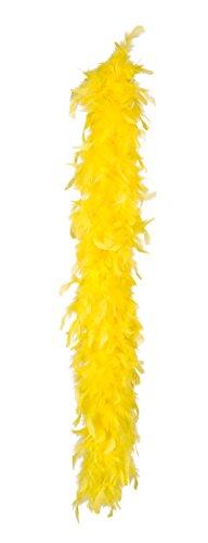 Boland 52790 - Federboa, Circa 180 cm, gelb