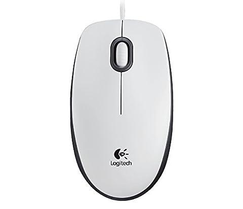 Logitech 910-005004 M100 USB PC Maus weiß