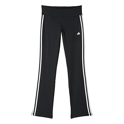 adidas Damen Hose Basic 3S Pants Jogginghose, Black/White, XS