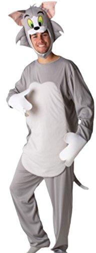 Confettery - Herren Tom, Tom und Jerry Kostüm, Karneval, Fasching, M/L, (Halloween Und Kostüme Tom Jerry)