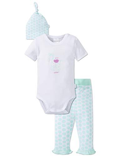 Schiesser Ponyhof Baby Mädchen Unterwäsche-Set, Mehrfarbig (Sortiert 1 901), 74 (Herstellergröße: 074) (3erPack)