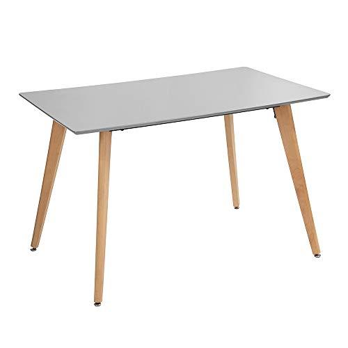 Fanilife - Mesa de Comedor Rectangular de 110 cm