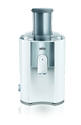 Braun J 500 WH – juice makers (Stainless steel, White)