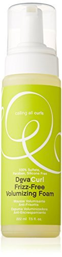 DevaCurl Frizz-Free Volumizing Foam 7.5 oz by DevaCurl [Beauty] (English Manual)