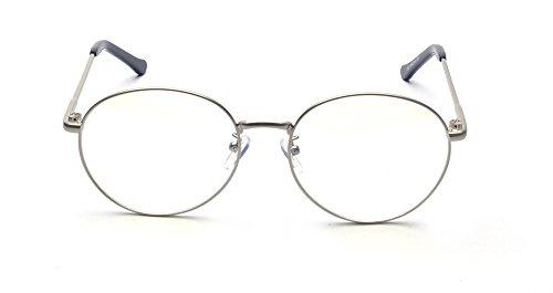 ALWAYSUV - Monture de lunettes - Femme silver