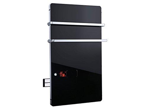 Toallero calefactor eléctrico digital ZAFIR V2000T B Purline