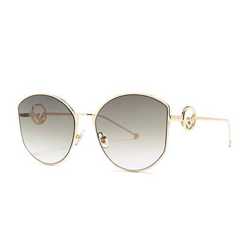 Kjwsbb 2019 neueste Elegante Damen-Sonnenbrille-Frauen-Entwerfer-Sonnenbrille-weibliche Weinlese-Farbtöne