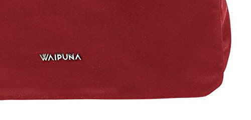 Borsa Waipuna In Nylon Di Alta Qualità Con Portachiavi Vino / Vino Rosso