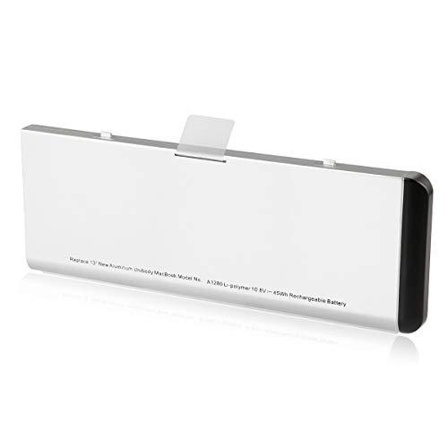 Energup Ersatz A1280 A1278 Laptop Akku für A1280 A1278 MacBook 13-inch Series [10.8V 4200mAh 45Wh] -