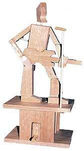 Timberkits - Guitarist - Wooden Model Kit
