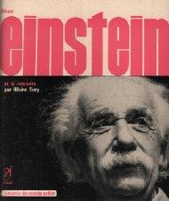 Albert einstein et la relativité / savants du monde entier n°5