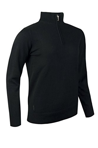 Glenmuir - Pull de sport - Uni - Manches Longues - Femme Noir - Noir