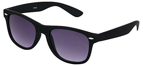 ADDON® UV protected wayfarer unisex sunglasses- (wayfarer swiss sport ss 102 | 50 | black Lens)