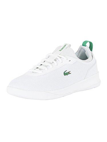 Homens Lacoste Lt Espírito 2,0 317 Um Formador Baixo Branco (branco / Verde)