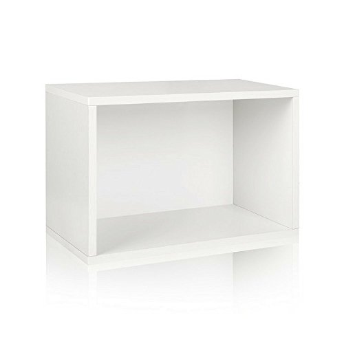 A10 Shop Cubox Storage unit- Open type, 40 cm wide x 30 cm high (Single) - White