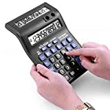 SaleOnTM Standard Function Desktop Business 12 Digital Dual Screen Double Display Calculator