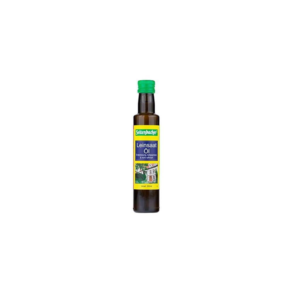 Seitenbacher Bio Leinl Rein Nativ Kaltgepresst Und 1 Pressung 2 X 250 Ml