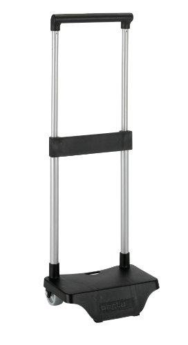 Safta - Carro Portamochilas Pequeño 67x22cm Color Negro