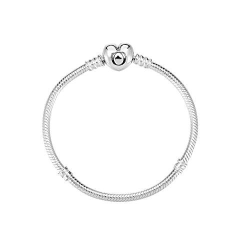 Pandora bracciale con charm donna argento - 59071919