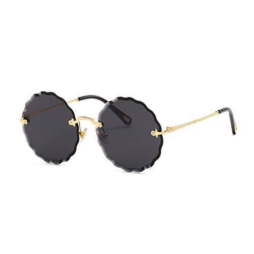 ANSKT Round Frame lace Sunglasses, 2UV 400 Outdoor-Sportbrillen polarisierte Sonnenbrillen Reitbrillen, geeignet zum Skifahren von Golf-Bikes beim Fischen mit Baseball