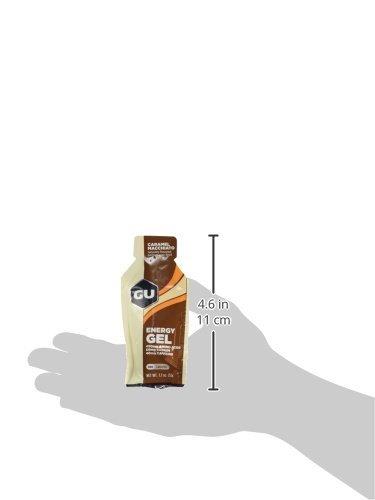 GU Caramel Macchiato Flavour Energy Gels – Box of 24