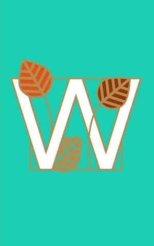 W: Monogram Initial Letter