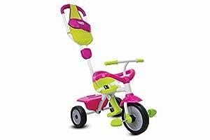 Smart Trike - Triciclo juego gl 3 en 1 de los 10-36 meses de color rosa/verde