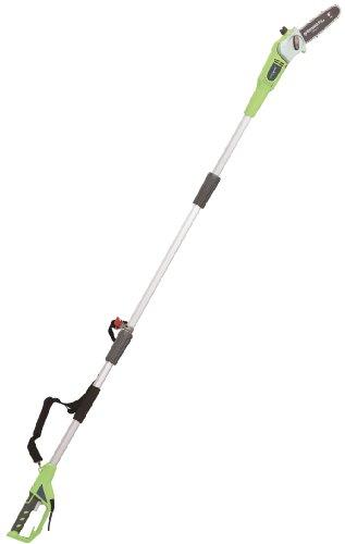 Greenworks Tools 20147 20cm 720W Elektro Hochentaster/Astschere, 720 W, 230 V, grün
