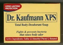 Dr. Kaufmann Xps Total Body Deodorant Soap (80 Grams) by DR