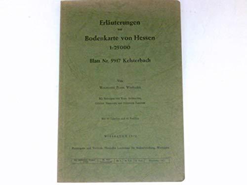 Erläuterungen zur Bodenkarte von Hessen 1:25 000
