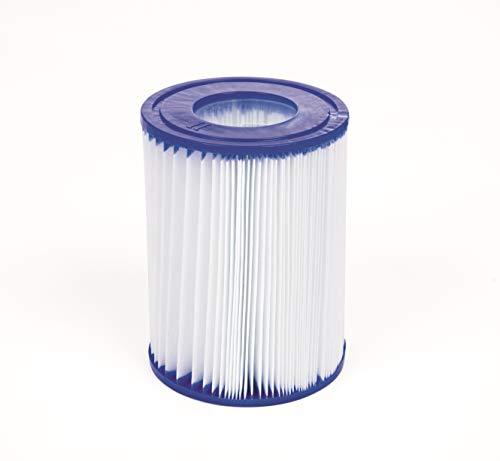 Bestway 58094 Filterkartuschen Gr.II, Durchmesser 10.6 cm, Höhe13.6 cm 2-er Set